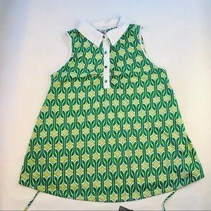 Vintage maternity sleeveless shirt Sz XL